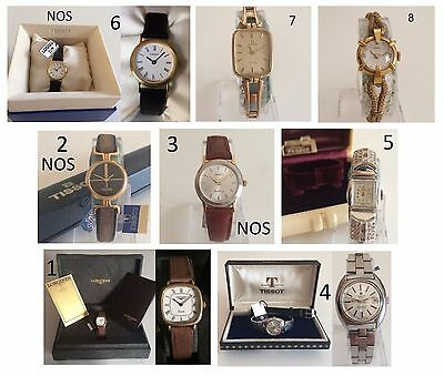 Orologio Watch LONGINES - TISSOT - EBERHARD - OMEGA Vintage Lady Women Donna ++