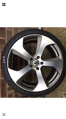 "19"" Vw Golf Monza Style Alloy Wheels And Tyres"