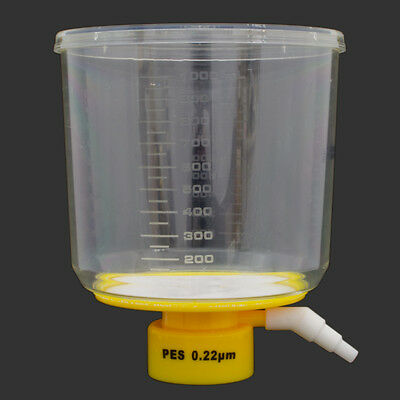 1000 mL Bottle Top Vacuum Filter, 0.22 um, PES, Sterile, Case of 12