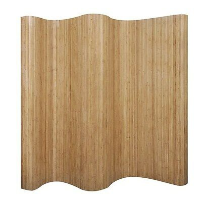 Room Divider Screen Folding Privacy Bamboo Partition Bedroom Dressing 250x200cm