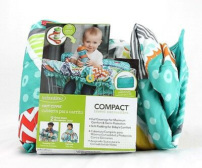 High Chair / Shopping Car Cover Infantino Compact USED Color Choice