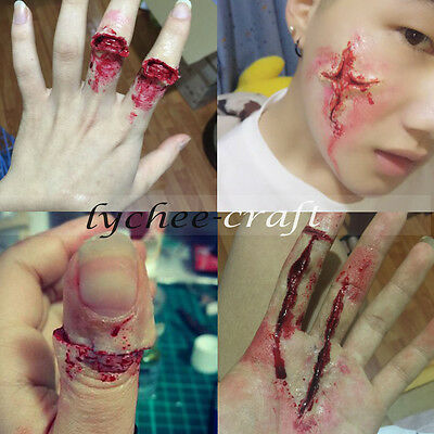 Wax Fancy Dress Special Effect Fake Wound Halloween Costume Accessory Makeup