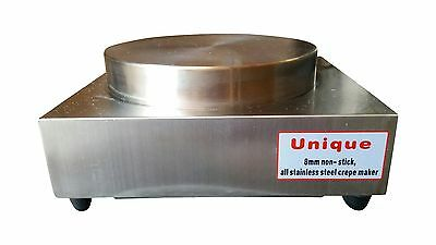 Commercial Electric Crepe Pancake Machine 308mm Plate - FULL STAINLESS plate