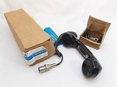 Vintage NOS 58A Motorola 4 Pin Mobile Radio Phone Style Handset PTT TMN-6058A