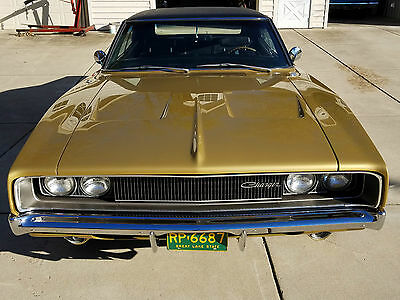 1968 Dodge Charger R/T 1968 Dodge Hemi Charger R/T 7.0L numbers match Concorse Rotisserie Restoration