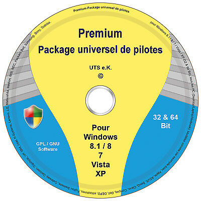 Logiciel d'installation automatique des pilotes windows 8-7-vista-xp (32&64 Bit)