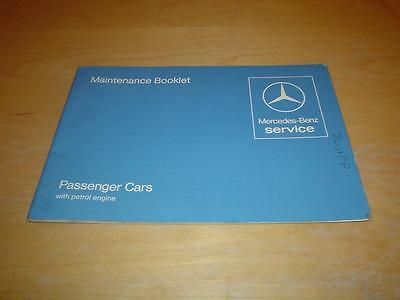 MERCEDES SERVICE BOOK W123 200 230 250 280 T E CE TE Owners Handbook Manual