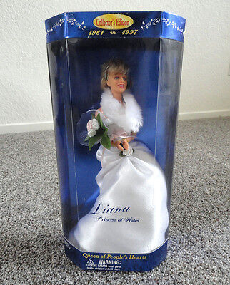 Princess Diana Queen Of Peoples Hearts Collectors Edition Doll
