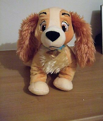 Disney Shop cuddly Lady and the Tramp dog toy