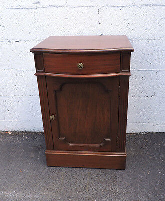 Mahogany Nightstand End Table Side Table 7673