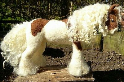 Needle Felted Traditional / Gypsy Cob, Horse, Pony - Unique Handmade Gift