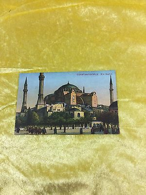 Vintage Post Card Of St Sophia Constantinople