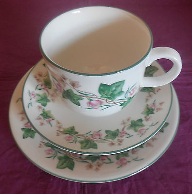 Royal Doulton Expressions Tiverton Cup Saucer & Plate - English China 1991 Trio
