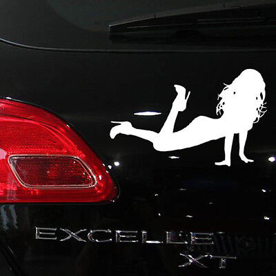 19x12cm Creative Customize Car Automobile Film Stickers Decals / Sexy Girl WH