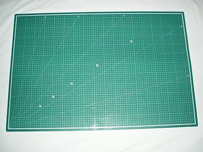 A1 Cutting Mat Printed Grid Lines Non Slip Knife Board Crafts Models HB199