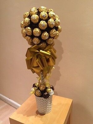 Ferrero Roche Bouquet tree 50 Gold Large Chocolate Perfect Sweet