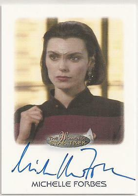 Michelle Forbes as Lt. Ro Laren Autograph Card-Women of Star Trek Trading Cards