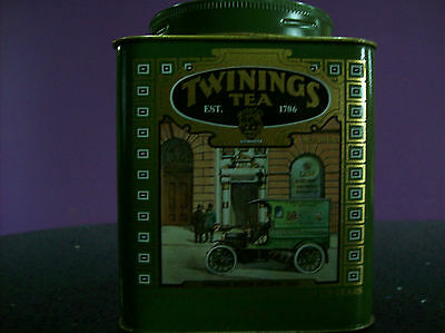 Vintage collectable Twinings Tea Tin