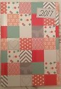 Brand new A5 Squares design  cover 2017 Week To View Diary