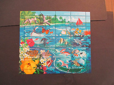 3-1999  -Cocos   Island -Living  Mosa  Sheet  -Let  --Cancelled  --Cto  --F/gum