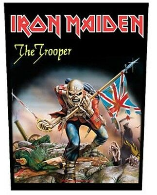 IRON MAIDEN BACK PATCH New Official TROOPER
