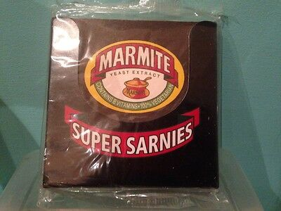 Brand new sealed marmite coasters collectables perfect Xmas gift secret Santa