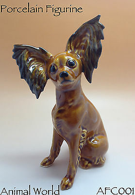 Figurine Toy Terrier dog Porcelain Russian Souvenirs Animals St. Petersburg