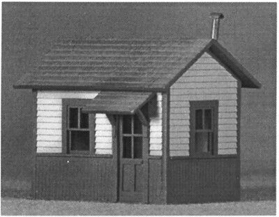 S SCALE or Sn3 WISEMAN MODEL SERVICES S-1009 WATCHMAN' SHANTY STRUCTURE KIT