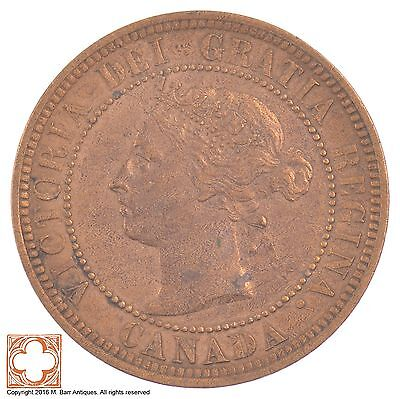 1888 Canada One Cent Queen Victoria *6262