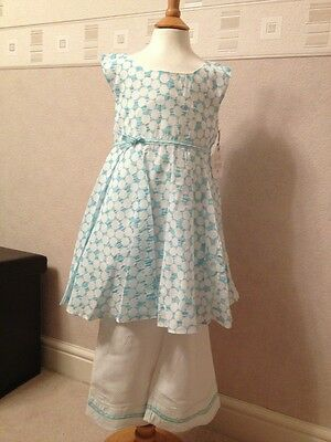 BNWT Girls Outfit By Little Darlings (7 Yrs) **MID SEASON SALE** RRP £82.50