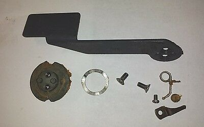 Yamaha Outboard Fast Idle Lever & Detent   703 Control Box