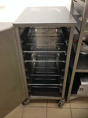 stainless cupboard