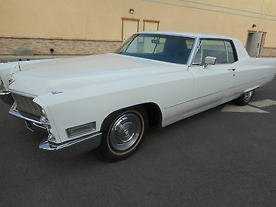 1968 Cadillac DeVille  1968 Cadillac Coupe Deville, 2 Owners, 56K Orig Miles, Restored, Very Good Shape