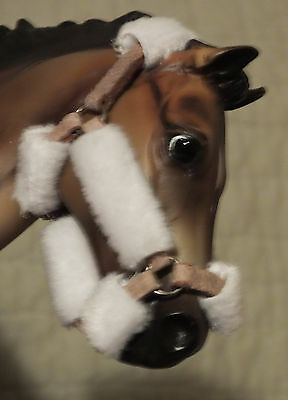 Breyer Traditional Horse Padded Shipping Halter Fleece English Tack Accessory