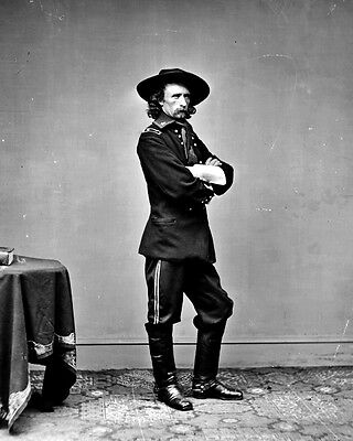 New 8x10 Civil War Photo: Union - Federal General George Armstrong Custer