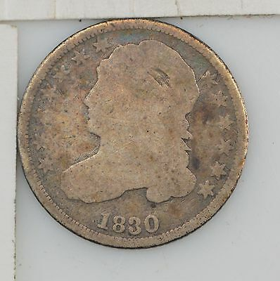 1830 Capped Bust Dime, Type 2 *Y139