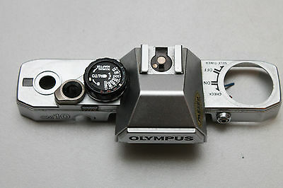 OLYMPUS OM10 TOP PLATE COVER (other parts available-please ask)