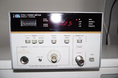 HP 436A Power Meter for RF & Microwave Power Measurements #2