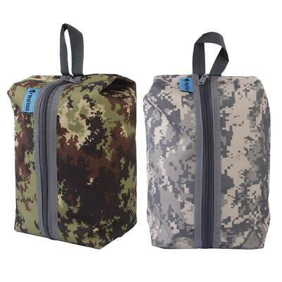 6L Camo Travel Gym Camping Laundry Shoes Storage Zip Bag Pouch Sports Carry Case