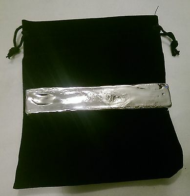 523g Hand Poured 999 Silver bar investment pure bullion invest