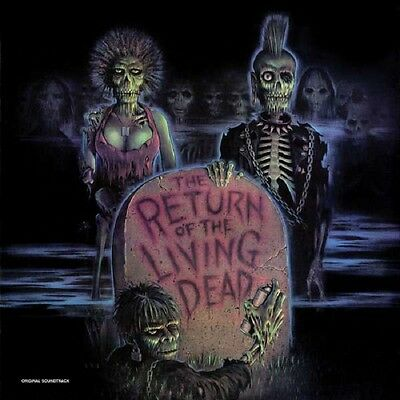 THE RETURN OF THE LIVING DEAD - OST - LP / Green/Blue Vinyl - Limited 333