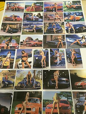 1/18 diorama MUSCLE AND MINX garage posters
