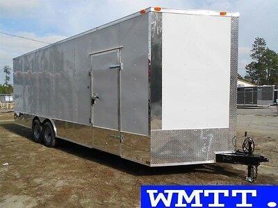 24' Commercial Duty trailer 2017 LOADED , Enclosed car hauler Freedom