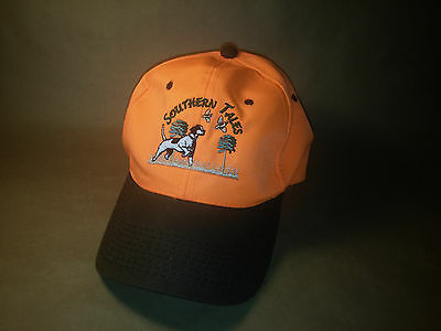 Southern Tales Embroidered Pointer Dog Hunting Birds Hat Cap Snapback Strap Nwot