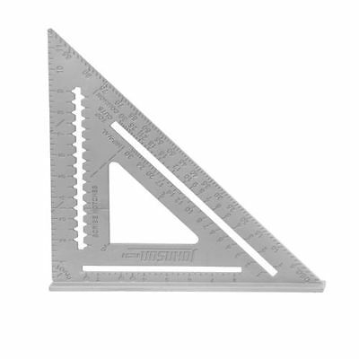 Johnson RAS-120 12-inch Professional Rafter Angle Square with Instruction Book