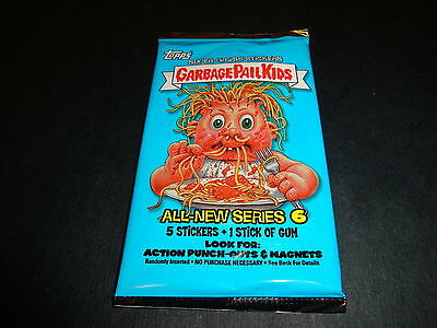 2007 Garbage Pail Kids (ANS6) Sealed Hobby Pack with Gum All New Series 6 GPK