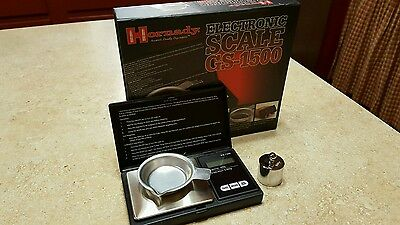 Hornady GS-1500 Electronic Powder Reloading Scale