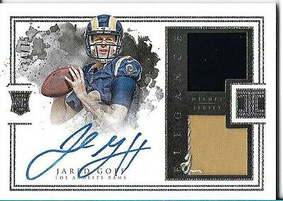 Jared Goff Impeccable Auto 34/75