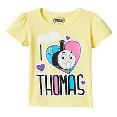 THOMAS THE TANK SHORT SLEEVE T SHIRT ( SIZE 2T or 4T) NEW!!!