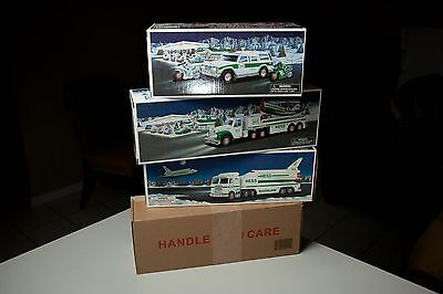 Hess Toy truck Bundle: 1999, 2002,2004 and 2015